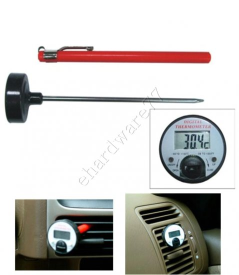 Instant Read Pocket Digital Thermometer (4602)