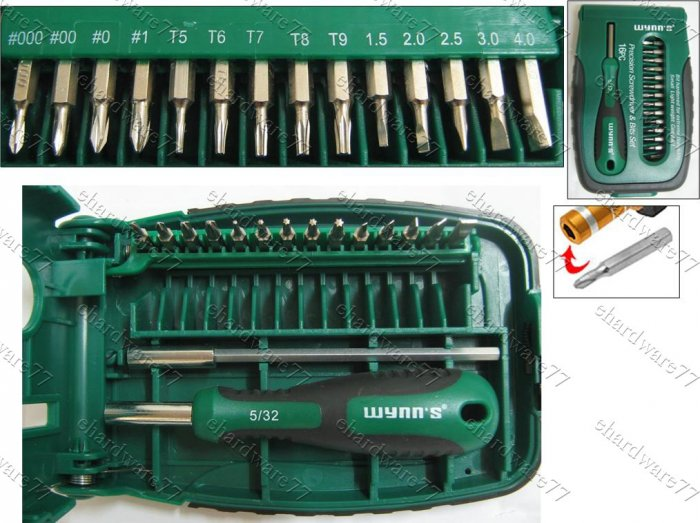 Wynns 16in1 Precision Screwdriver Set (W0570)