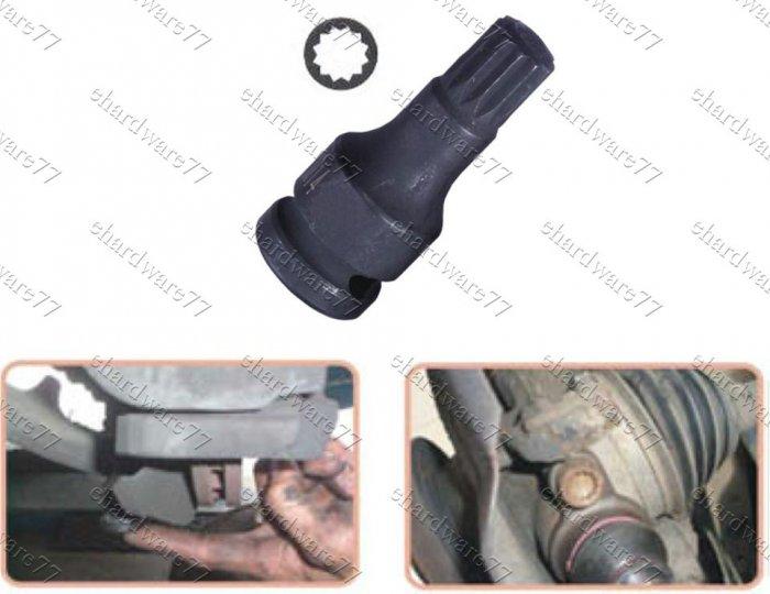 VW Audi upper ball joint Multi-Spline Socket (1368)