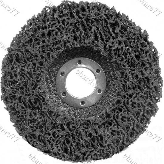 Polycarbide Abrasive Wheel 100mm For Rust & Paint Stripper