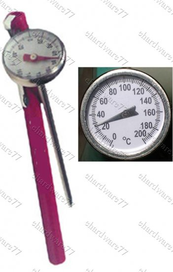 Pocket Thermometer Range 0-200ºC (4601)