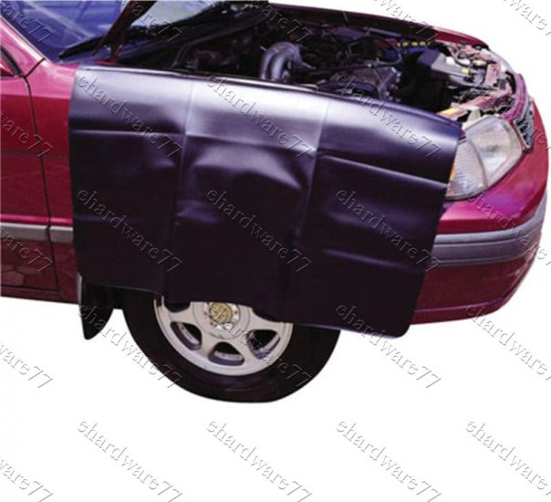 Magnetic Car Fender Cover Keep Clean & Protect Vehicles Paint (AM12)