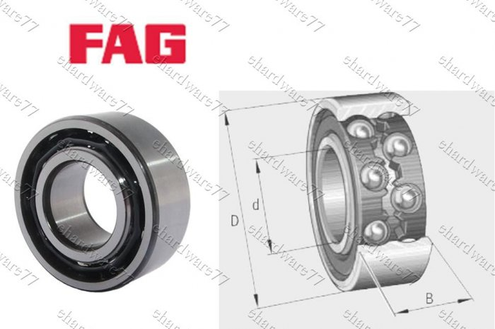 FAG Bearing 4205-BB-TVH