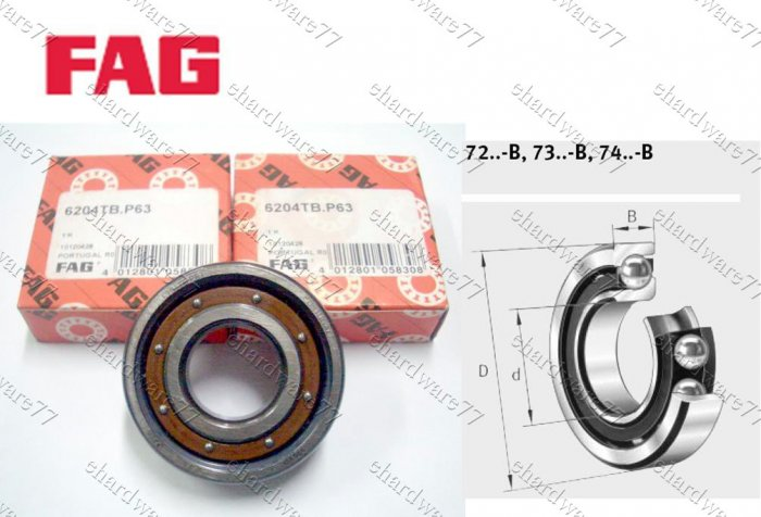 FAG Bearing 7208-B-JP