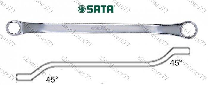 "SATA DOUBLE BOX END WRENCH 1/2""""x9/16"""" (42102)"