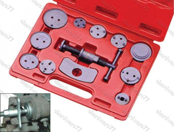 Brake Pad Riveting Tool : Disc brake caliper wind back tool kit a