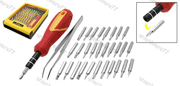 31-in-1 Precision Screwdriver Bit Set (TB530)