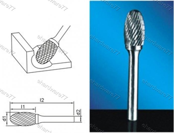 Tungsten Carbide Burr
