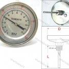 Bimetal Thermometer Back 0°C to +300°C (BT3066)
