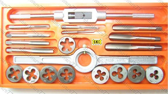 SKC 20pcs Metric Tap & Die Set (SKC720)