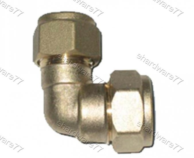 Plumbing Copper Pipe Fitting - Reducer Elbow For Copper Pipe 15mmx22mm