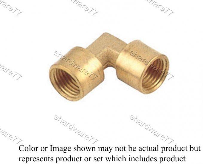 "Brass Fitting Female Elbow 1/8"" x 1/8"" (DFFL11)"