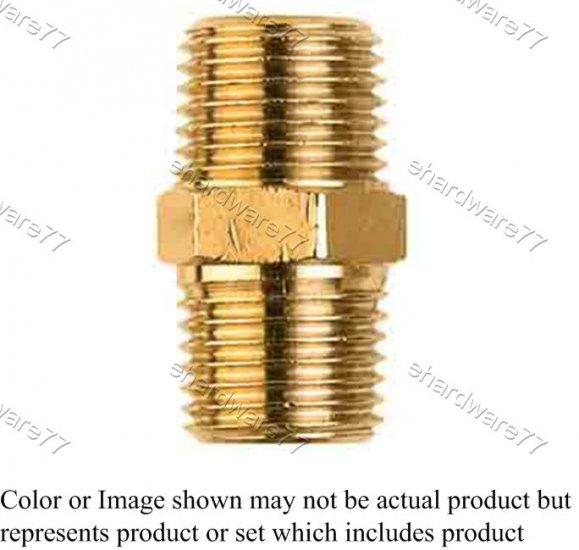 "Brass Fitting Male Adaptor 1/8"" (DMM1)"