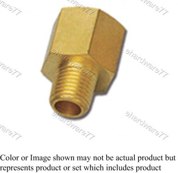 "Brass Fitting - Female Male Reducer 3/8""Fx1/2""M (DFM34)"