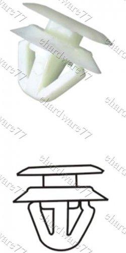 MAZDA Pedal Plastic Clips RD39 (100pcs)