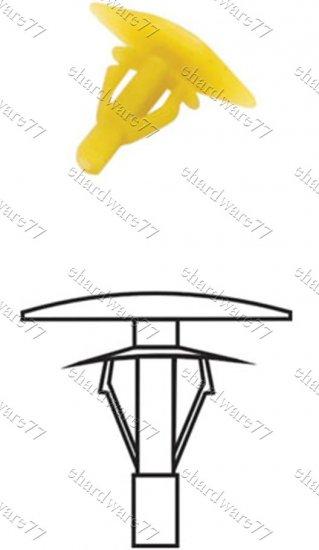General Sound Proof Rubber Plastic Clips RD33 (200pcs)