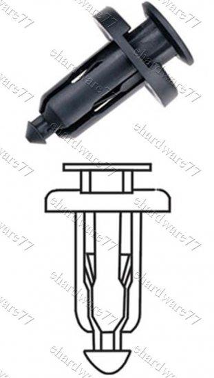 General Body Bumper Plastic Clips RD26 (100pcs)