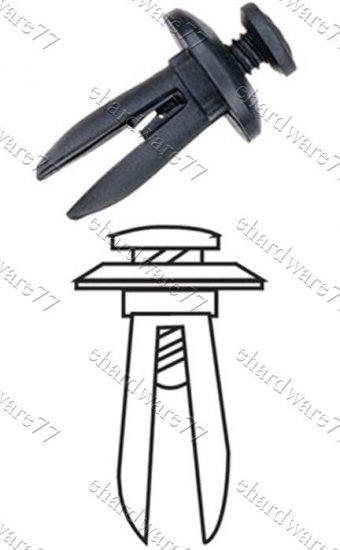 General Auto Body Bumper Plastic Clips RD17 (100pcs)