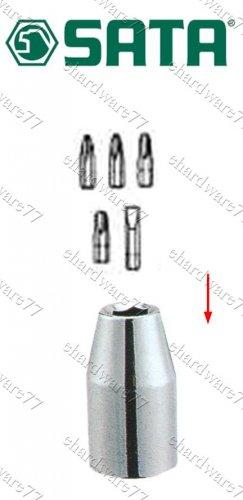 "SATA - 1/2"" DR. x 5/16"" (8mm) Shank Bit Holder Socket (13914)"