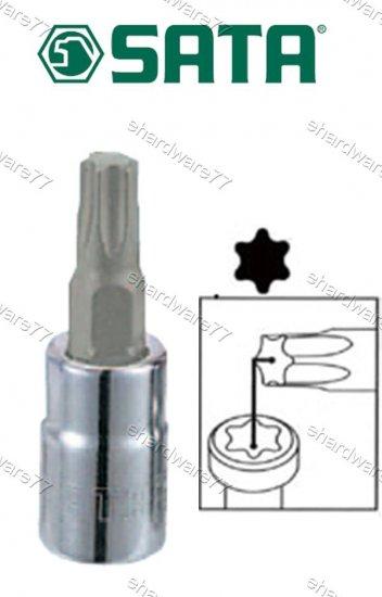 """SATA - 1/4"""" DR. Torx Bit Socket T-30 (21106)"""