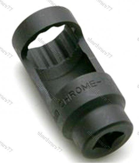 """Diesel Injector Deep Window Socket 1-1/16"""" (27mm) (JDAQ1627)"""