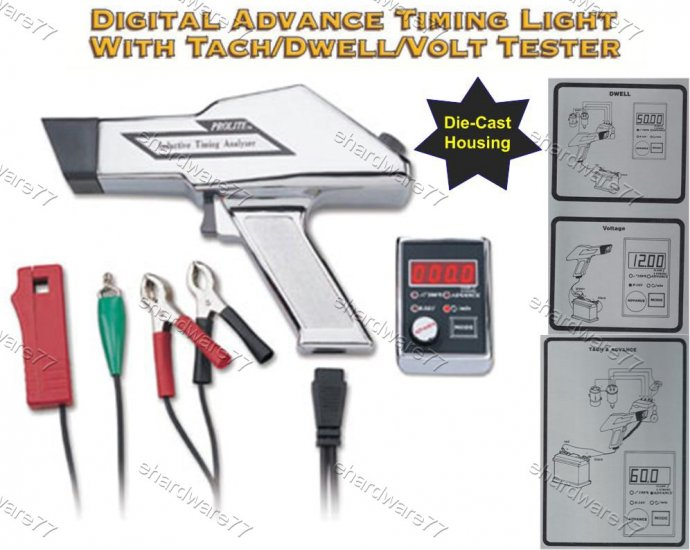 PROLITE Pro Advance Digital Timing Light Tester (DA5100)