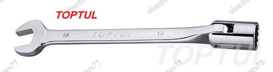 TOPTUL - Swivel Socket Combination Wrench 11mm (AEEB1111)