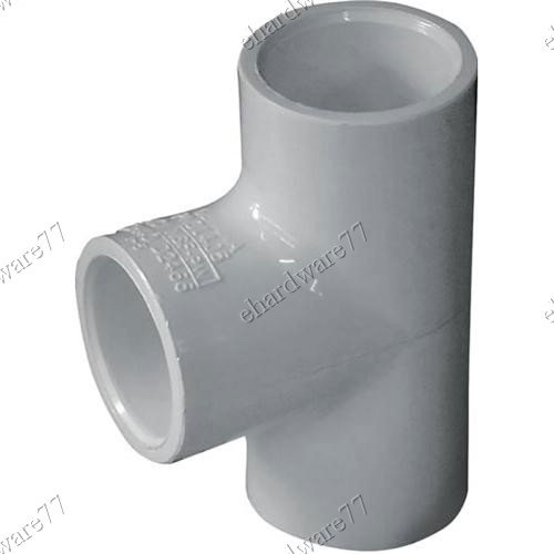 """PVC Tee Joint 100mm 4"""""""