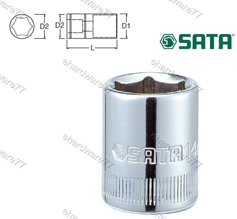 """SATA 1/4"""" DR. Socket 3.5mm (Metric) (11301)"""