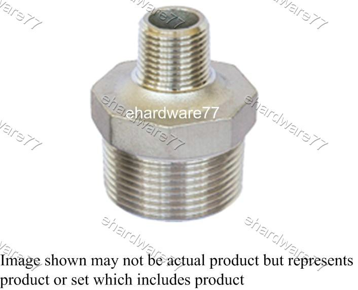 """Stainless Steel Reducer Nipple 1/2"""" X 3/8"""""""