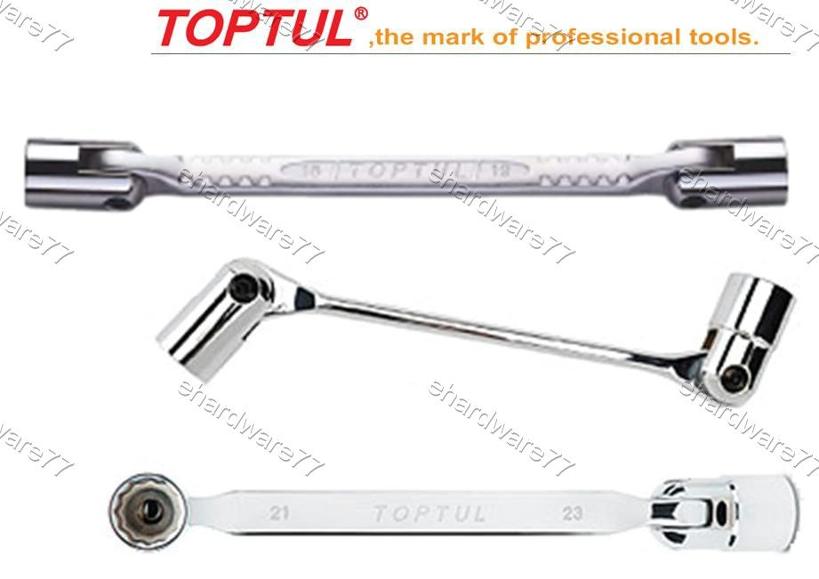 TOPTUL - Double End Swivel Socket Wrench 18mmx19mm (AEEC1819)