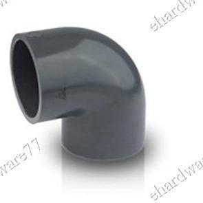 "PVC 90 Degree Plain Elbow 4"" (100mm)"