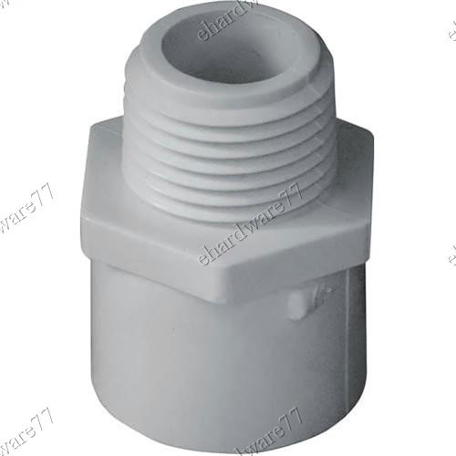 """PVC Male Socket 15mm 1/2"""""""