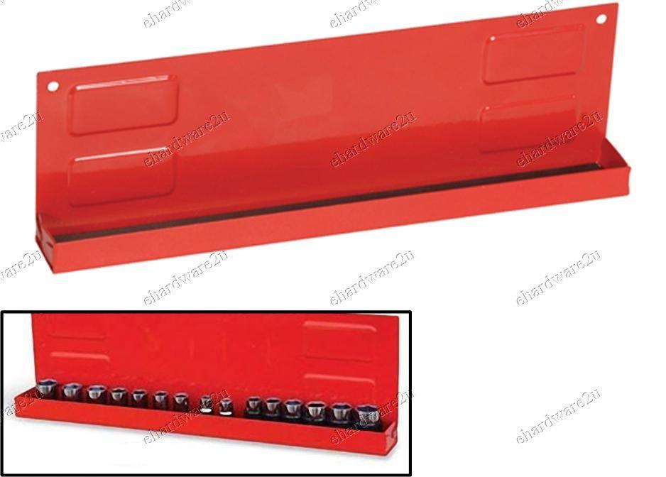 """1/4""""DR & 3/8""""DR Magnetic Socket Holder Tray 280mm (MT-QJ7020)"""