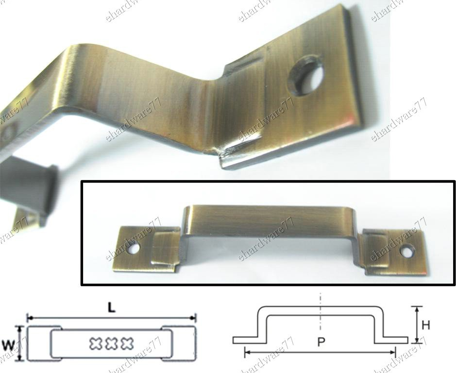 """Bronze Color Utility Pull Handle 5"""" (101)"""