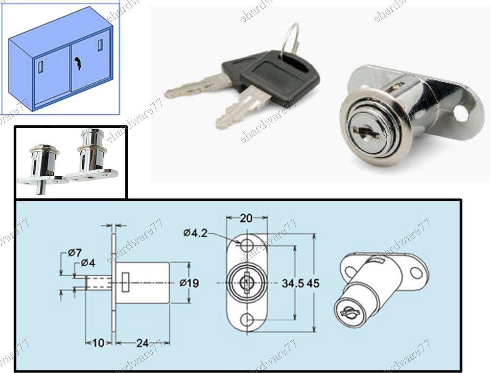 Cabinet Push Lock Lk116