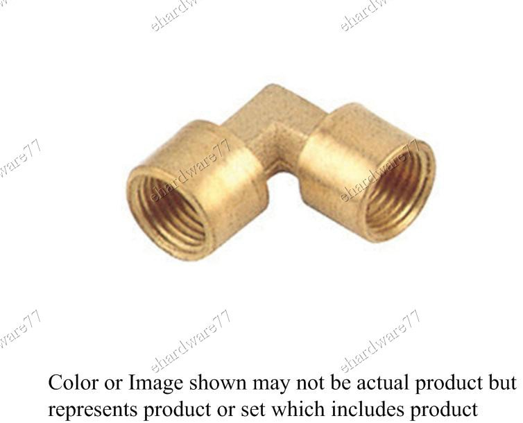 "Brass Fitting Female Elbow 1/2"" x 1/2"" (DFFL44)"