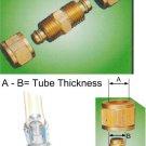 "Nylon Tube Fitting - Straight Joints 5/16"" OD Tube (DUCB25)"
