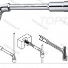 TOPTUL Angled Socket Wrench 11mm (AEAE1111)