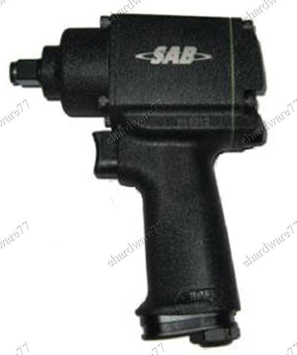 "SAB 1/2""DR Compact Air Impact Wrench 1.6KG 450FT/LB (SB22L)"