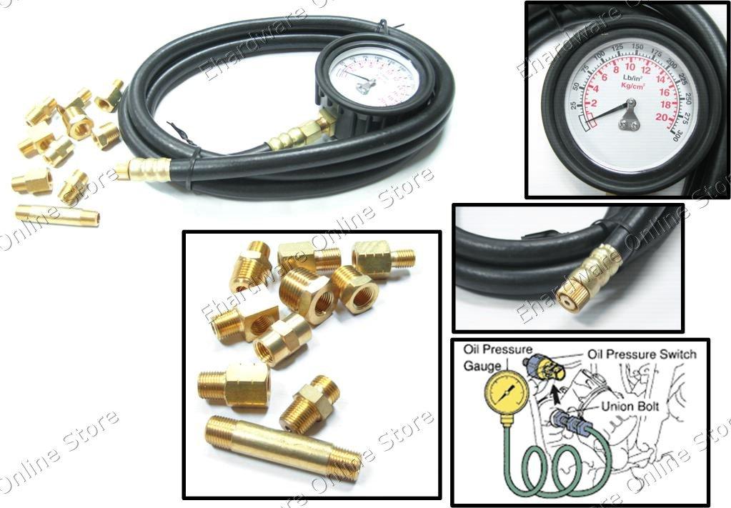 ENGINE OIL PRESSURE TESTER KIT (1256)