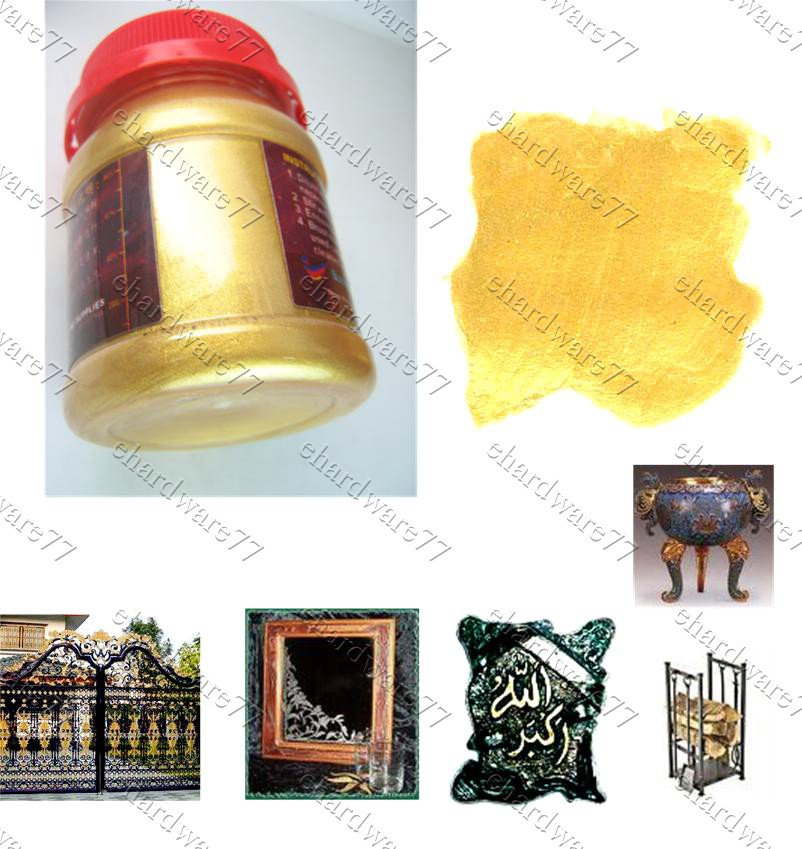 Sparkling Gold Water Soluble Varnish Paint 90gram (PA90)