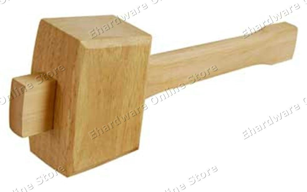 Wood working wooden beech mallet wh
