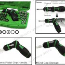 TOPTUL HIGH-TORQUE PISTON GRIP SCREWDRIVER, BIT & SOCKET SET (GAAI5401)