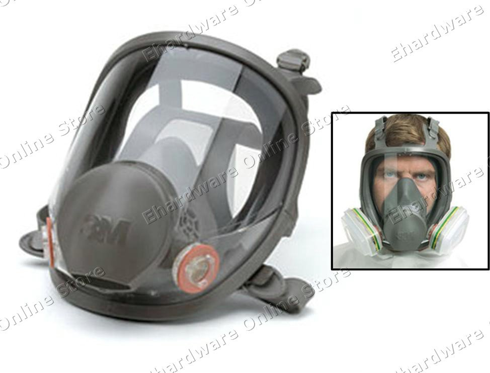 3m 6800 Series Full Face Respirator Medium 3mr6800