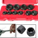 10PCS HEX LOW PROFILE BOLT-OUT TWIST SOCKET SET (1545)