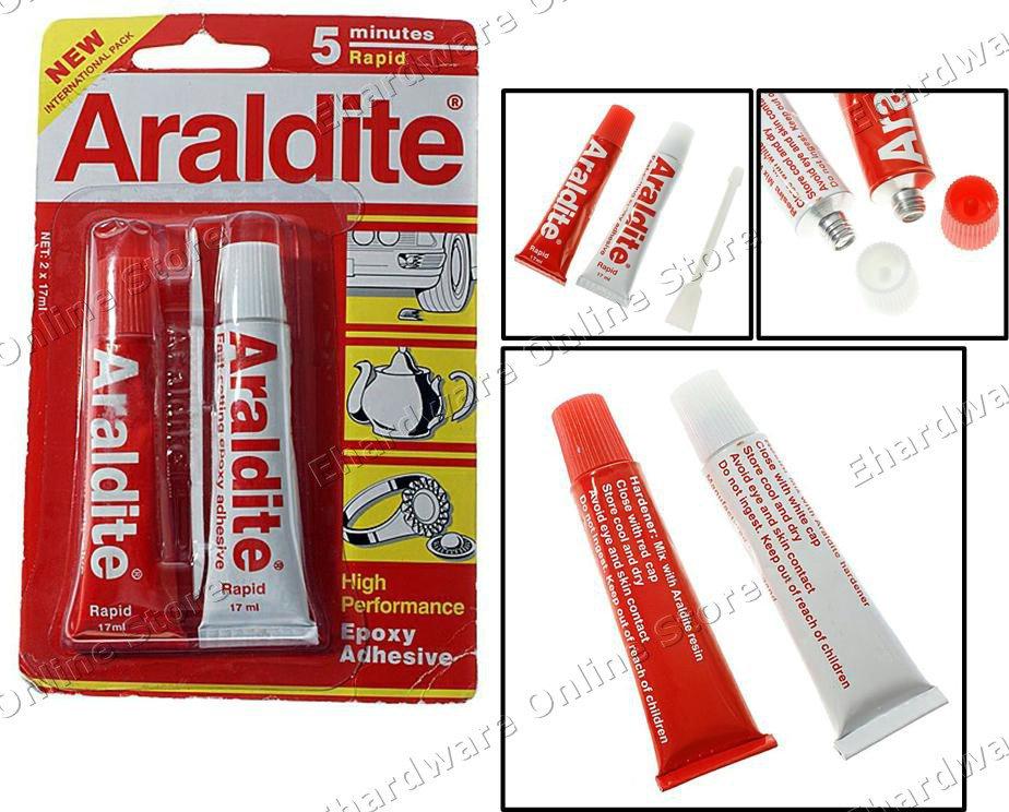 Araldite 5 minute Rapid Epoxy Adhesive 3.5tonne/sq.in (AREGRP)