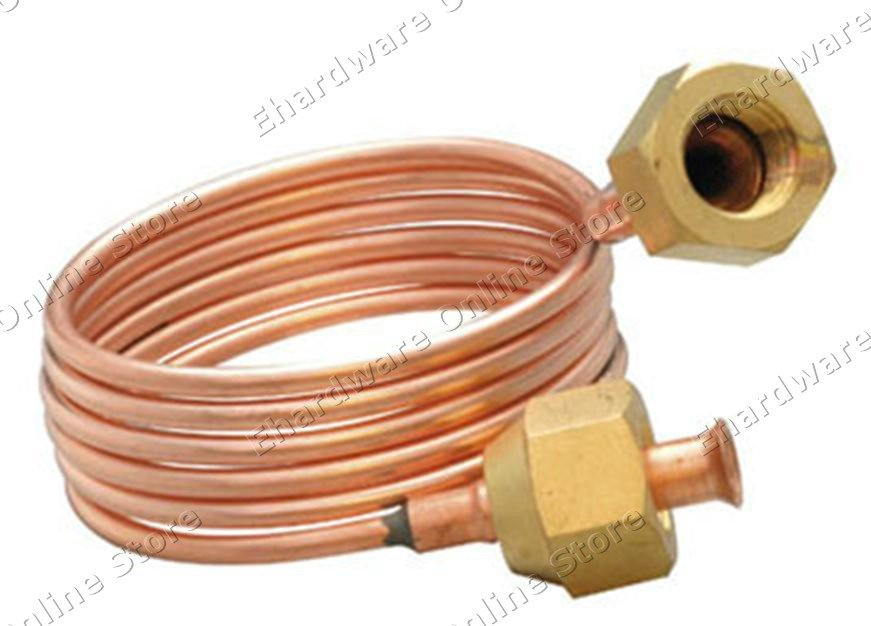 Copper capillary tube with quot flare nuts mm pm m