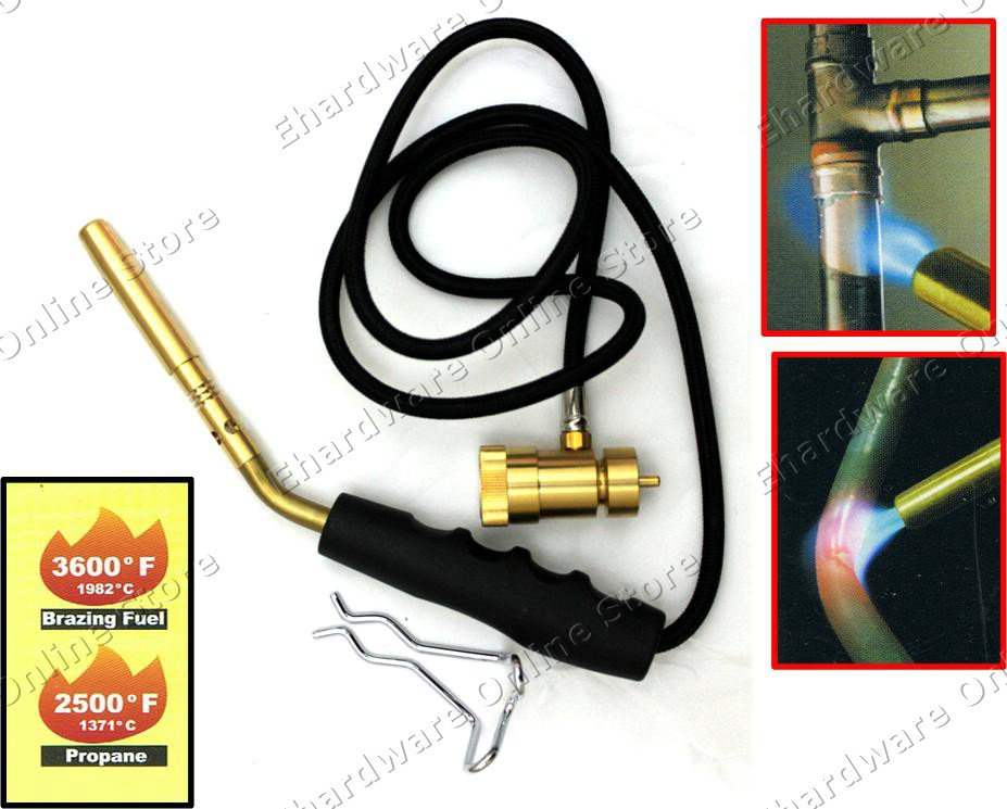 Welcold Propane Mapp Gas Versatility Torch With 3ft Hose
