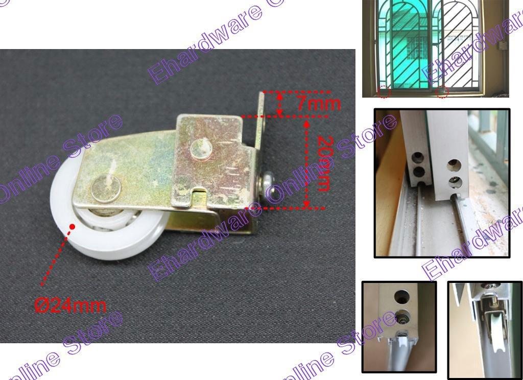 Aluminium Frame Sliding Glass Window Roller Wheel (EZ802)